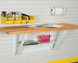 """48"""" Wall-Mount Work Table"""