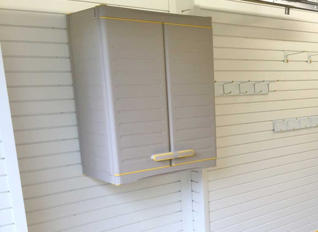 Garage Wall Storage: Garageflex Wall Cabinets and Cupboards to give you flexible garage storage space