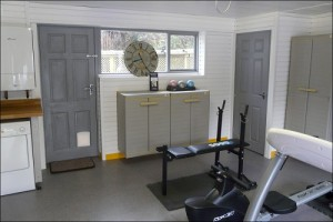 Ever thought about your garage as a home gym?