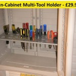 in-cabinet tool holder