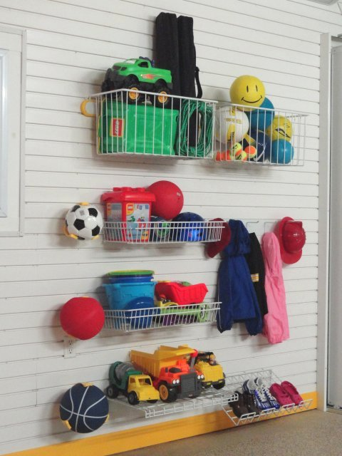 Kids toy storage garage storage accessories