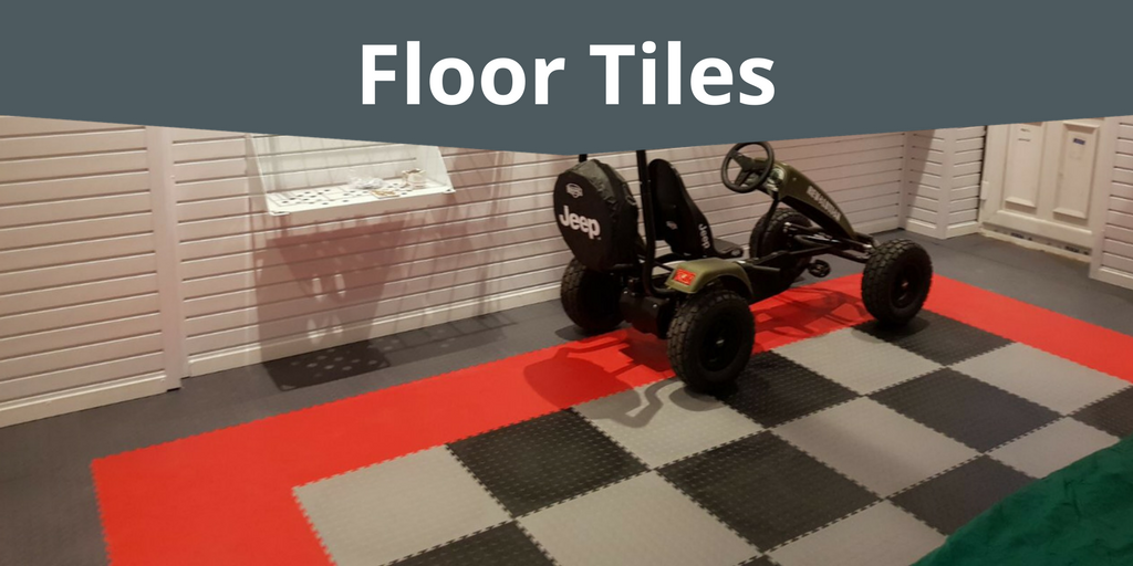 Floor Tiles to update your garage floor with style