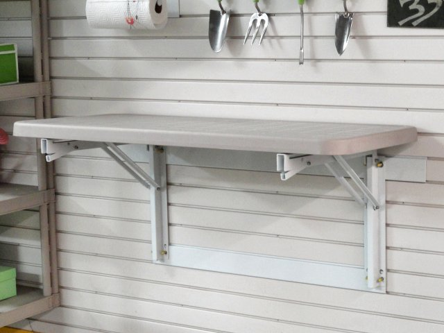 Garage Wall Storage: Our workbenches give you flexible space to use for crafts, diy and hobbies in your garage