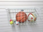 Garage Wall Storage: Garageflex Range of Baskets allow you to store smaller items on your garage wall