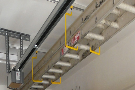 The FX9005 Ladder Storage Kit from Garageflex allows you to easily store ladders on your garage ceiling