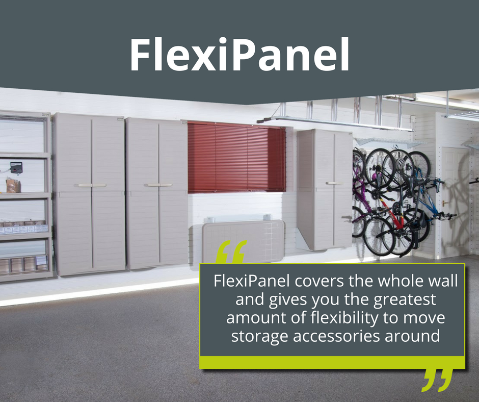 Garage Wall Storage: Flexible Wall Panel for your Garage Wall