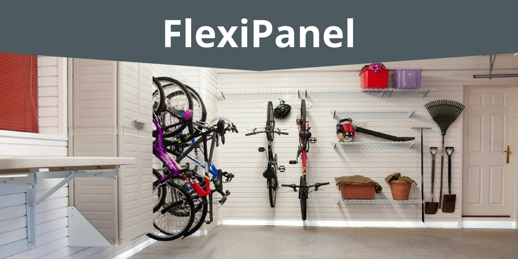 FlexiPanel wall storage solutions for your garage