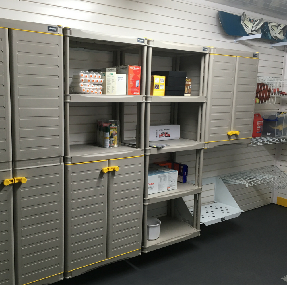 Garageflex Cabinets Wall Storage Solutions for a Fitted Garage