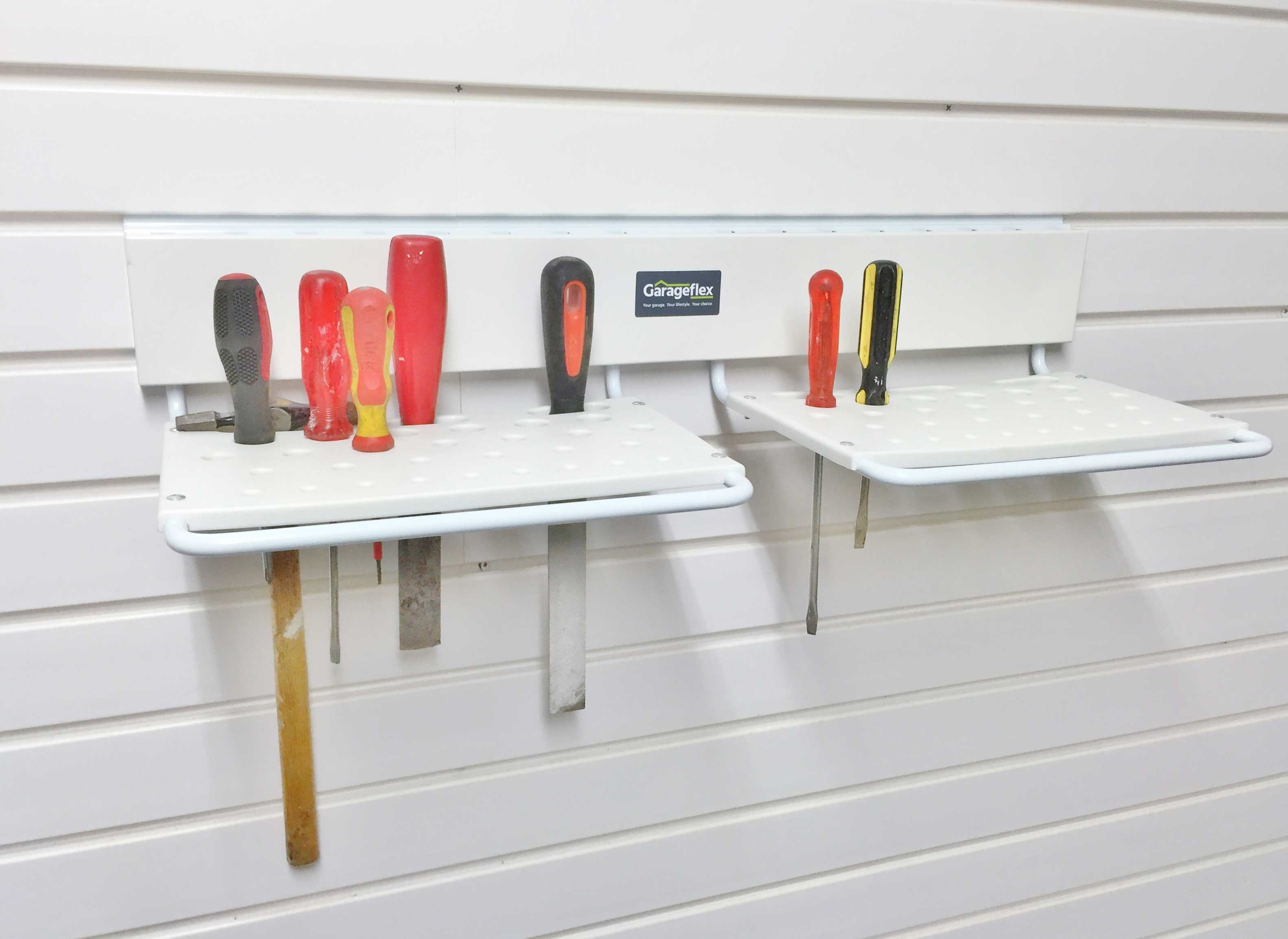 Garage Wall Storage: Tool storage for your garage wall for storing small hand tools