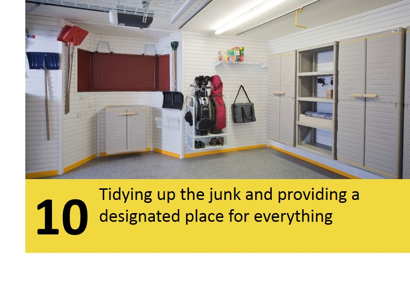 10 tidying up the junk