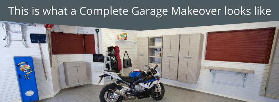 Complete Garage Makeover from Garageflex Wall Solutions and Flooring