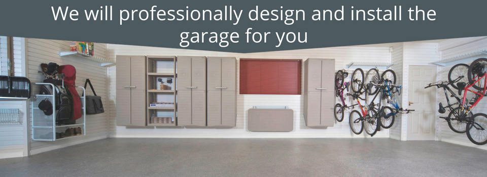 Garageflex Complete Garage Makeover includes Wall Storage, Ceiling and floor
