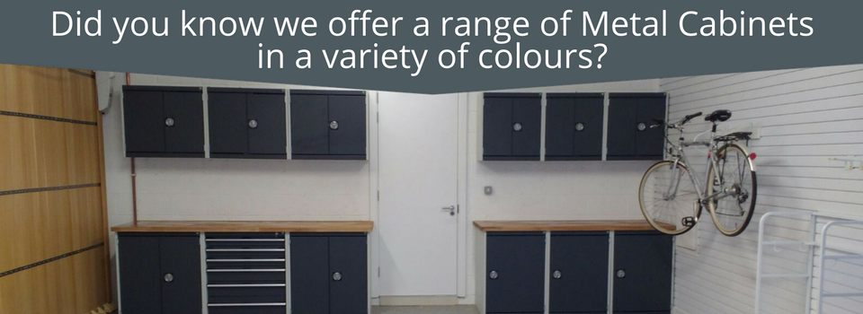 Cambridge Case study inc metal cabinets and a resin floor