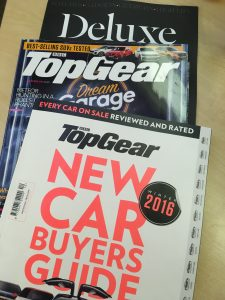 Garageflex feature in TopGear New Car Buyers Guide 2016 Magazine