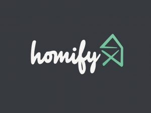 Homify logo on Garageflex