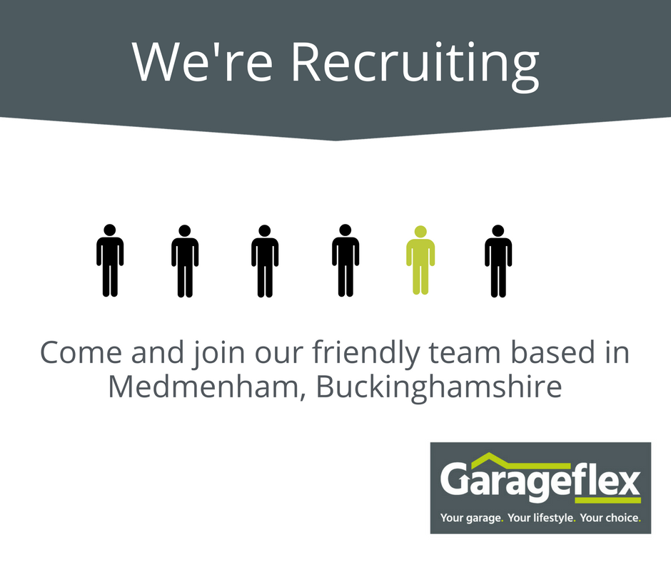 Garageflex are looking to recuit someone to organise our Warehouse