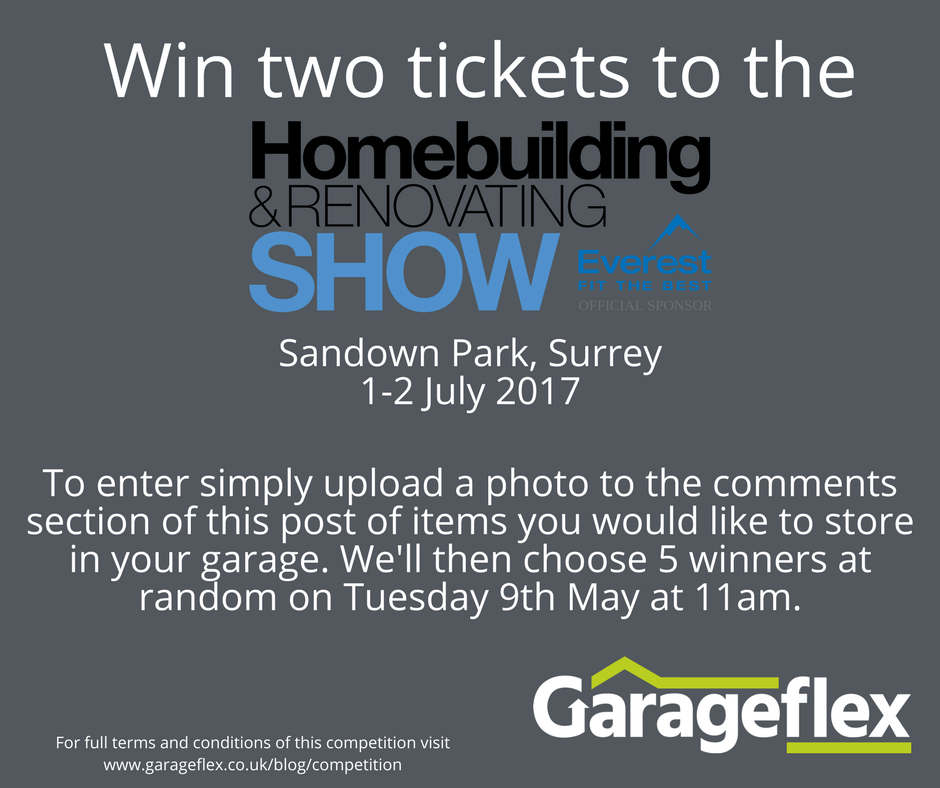 Win two tickets to the Homebuilding & Renovating Show, Sandown Park on 1-2 July 2017