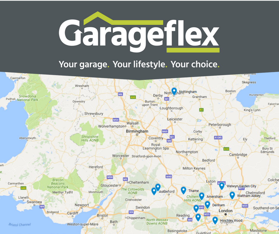 Where you may have seen Garageflex working in April 2017