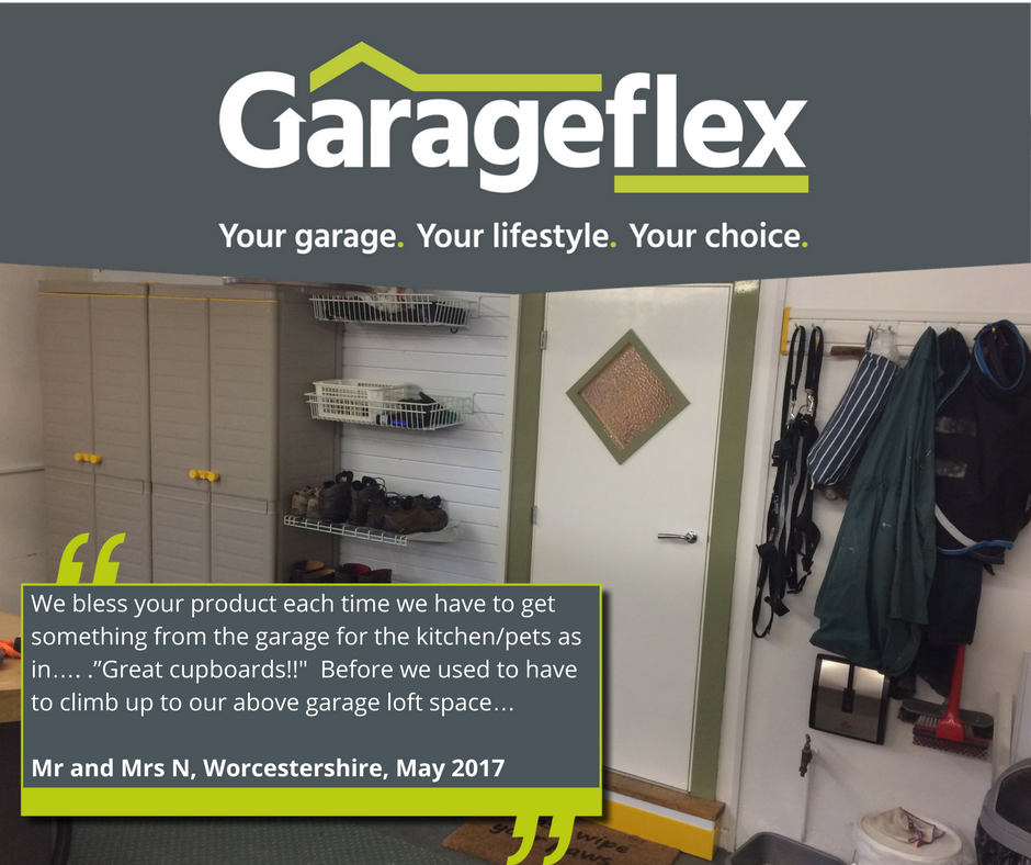 Garageflex Garage Makeover in Malvern Worcestershire