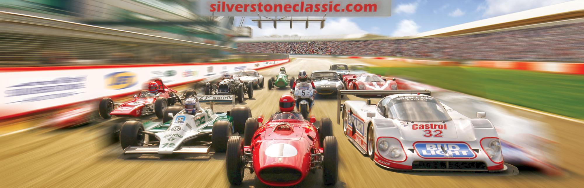 Garageflex exhibiting at the Silverstone Classic 2017