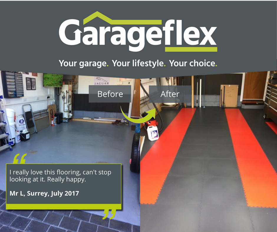 Inspiring ideas for your garage floor by Garageflex
