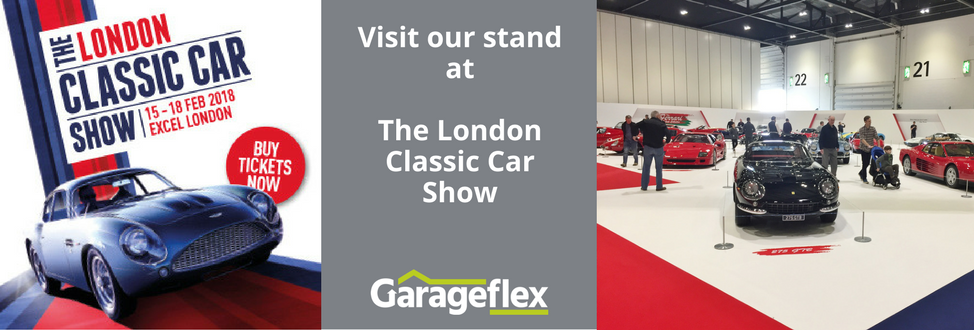 Come and see us at The London Classic Car Show 2018