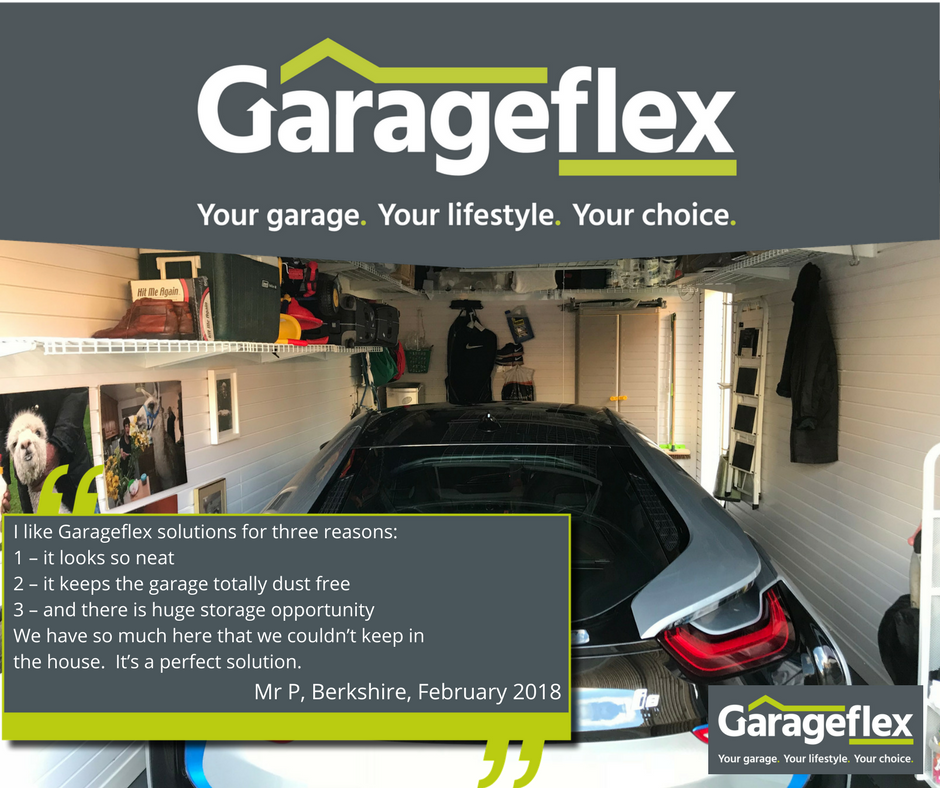 Berkshire Garage with Testimonial Garageflex