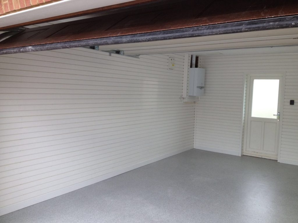FlexiPanel helps to seal up your garage walls