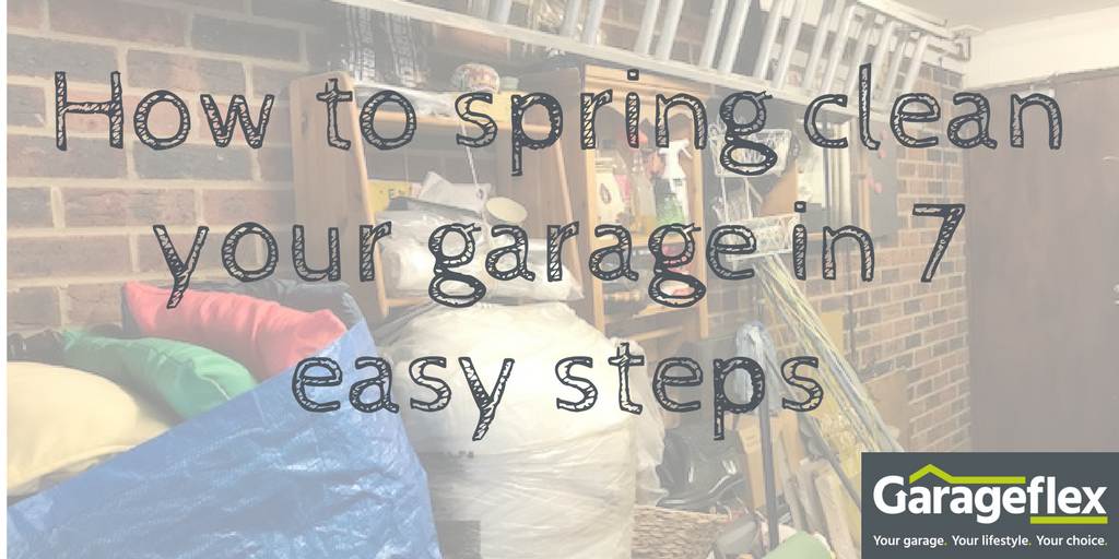 How to spring clean your garage
