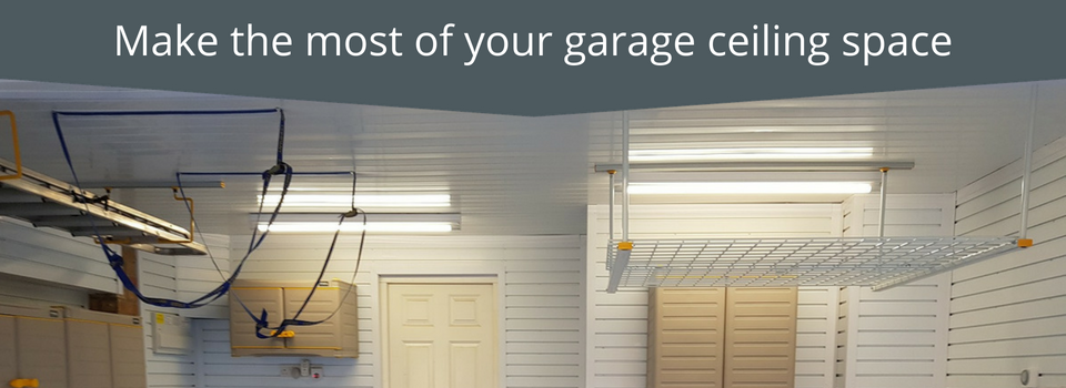 Make the most of your garage ceiling space