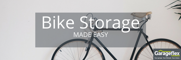 Bike Storage made easy garageflex bike rack