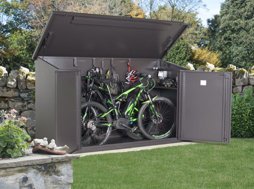 Bike storage made easy garageflex asgard