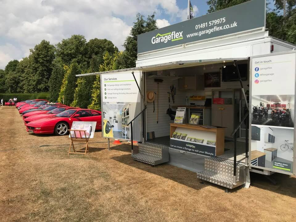 Garageflex exhibiting at The Henley Show 2018