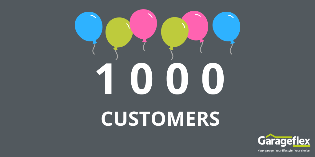Garageflex signs up its 1000th Customer